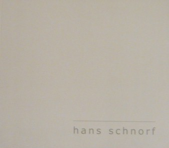 Hans Schnorf BOOK Empty Spaces